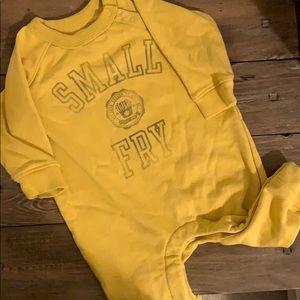 Small 🍟 sweatshirt romper